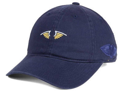 New Orleans Pelicans Mitchell and Ness Mitchell and Ness NBA Elements Dad Hat Strapback Cap