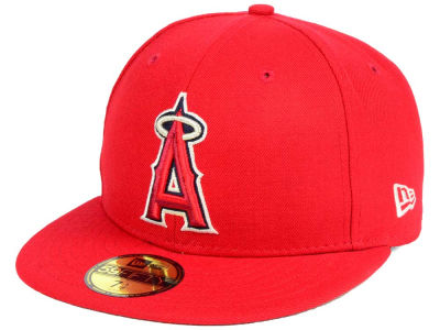 Los Angeles Angels New Era MLB Classic Gray Under 59FIFTY Cap