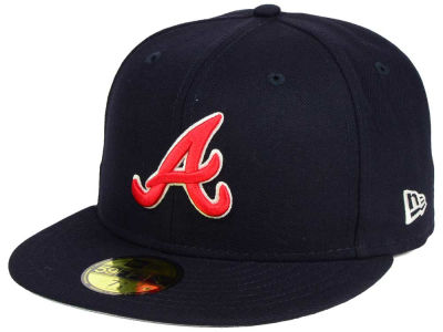 Atlanta Braves New Era MLB Classic Gray Under 59FIFTY Cap