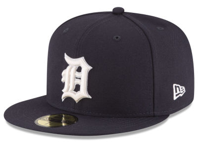 Detroit Tigers New Era MLB Classic Gray Under 59FIFTY Cap