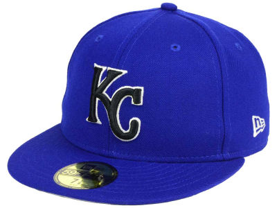 Kansas City Royals New Era MLB Classic Gray Under 59FIFTY Cap