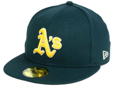 Oakland Athletics New Era MLB Classic Gray Under 59FIFTY Cap