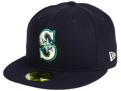 Seattle Mariners New Era MLB Classic Gray Under 59FIFTY Cap