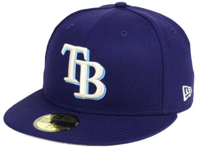 Tampa Bay Rays New Era MLB Classic Gray Under 59FIFTY Cap