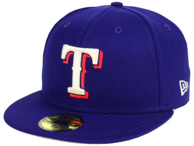 Texas Rangers New Era MLB Classic Gray Under 59FIFTY Cap