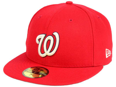 Washington Nationals New Era MLB Classic Gray Under 59FIFTY Cap