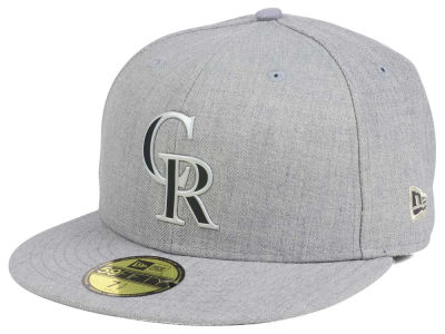 Colorado Rockies New Era MLB Dual Flect 59FIFTY Cap