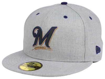 Milwaukee Brewers New Era MLB Dual Flect 59FIFTY Cap