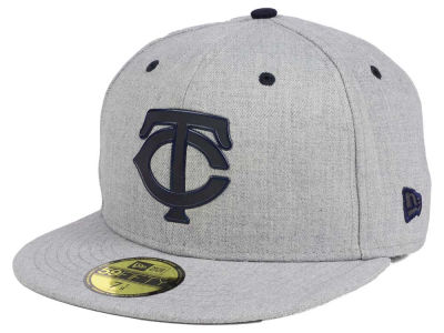 Minnesota Twins New Era MLB Dual Flect 59FIFTY Cap