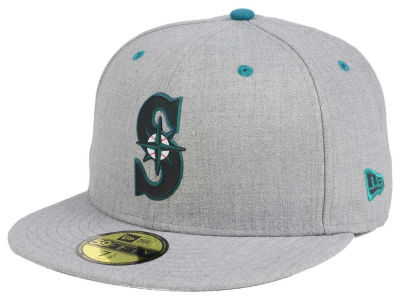Seattle Mariners New Era MLB Dual Flect 59FIFTY Cap