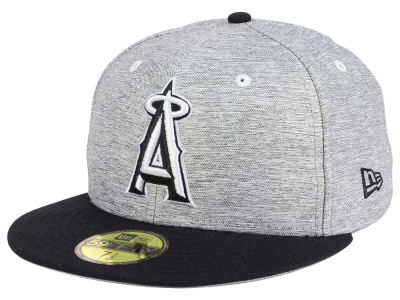 Los Angeles Angels New Era MLB Shady Black 59FIFTY Cap
