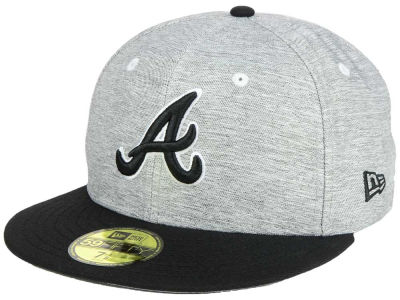 Atlanta Braves New Era MLB Shady Black 59FIFTY Cap