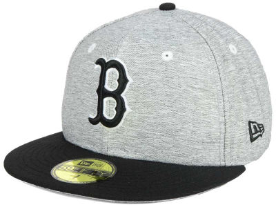 Boston Red Sox New Era MLB Shady Black 59FIFTY Cap