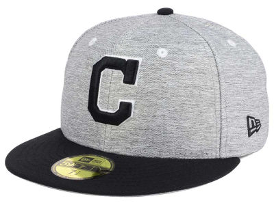 Cleveland Indians New Era MLB Shady Black 59FIFTY Cap