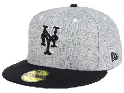 New York Mets New Era MLB Shady Black 59FIFTY Cap