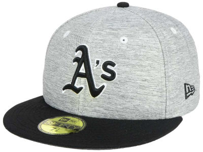 Oakland Athletics New Era MLB Shady Black 59FIFTY Cap