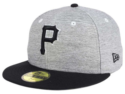 Pittsburgh Pirates New Era MLB Shady Black 59FIFTY Cap