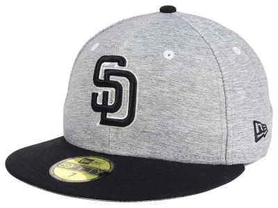 San Diego Padres New Era MLB Shady Black 59FIFTY Cap