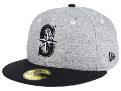 Seattle Mariners New Era MLB Shady Black 59FIFTY Cap