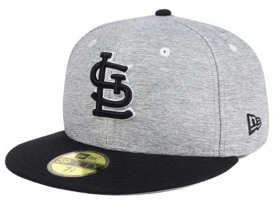 St. Louis Cardinals New Era MLB Shady Black 59FIFTY Cap