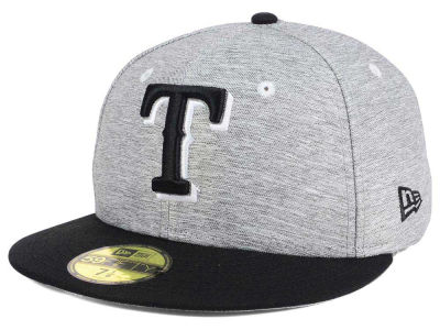 Texas Rangers New Era MLB Shady Black 59FIFTY Cap