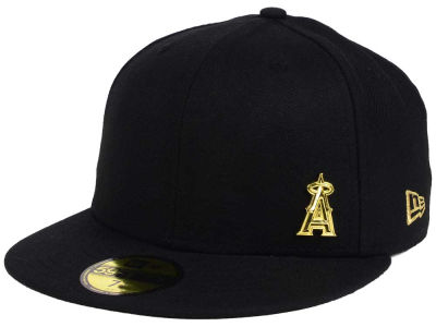 Los Angeles Angels New Era MLB Flawless OGold 59FIFTY Cap