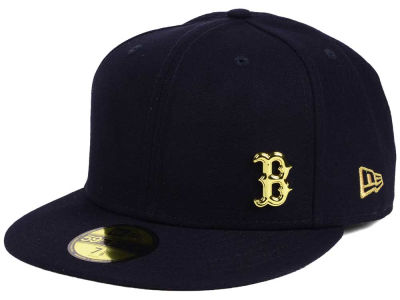 Boston Red Sox New Era MLB Flawless OGold 59FIFTY Cap