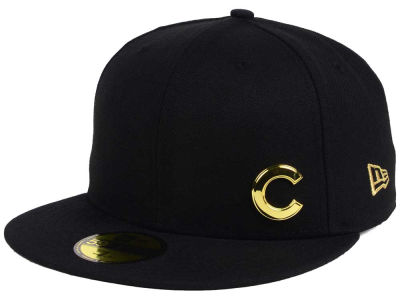 Chicago Cubs New Era MLB Flawless OGold 59FIFTY Cap