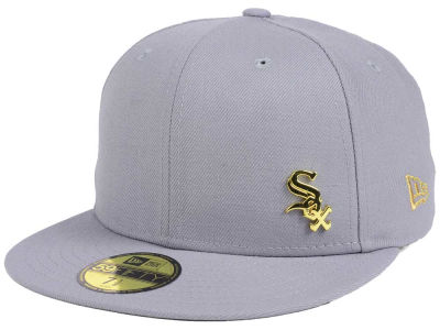 Chicago White Sox New Era MLB Flawless OGold 59FIFTY Cap