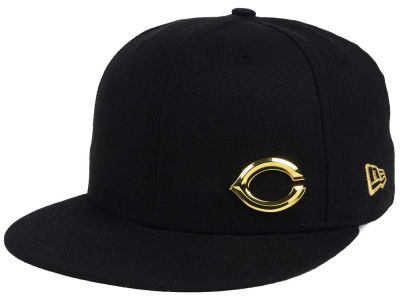 Cincinnati Reds New Era MLB Flawless OGold 59FIFTY Cap