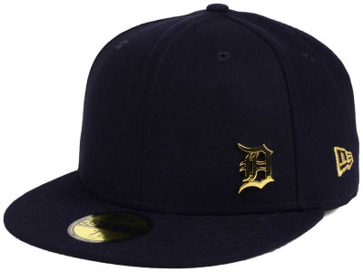 Detroit Tigers New Era MLB Flawless OGold 59FIFTY Cap