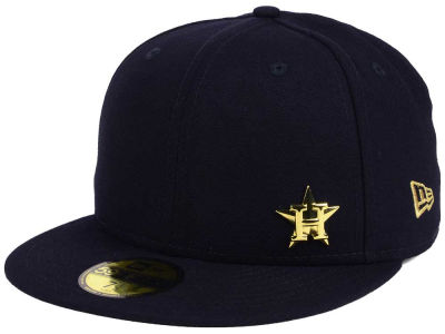 Houston Astros New Era MLB Flawless OGold 59FIFTY Cap