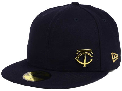 Minnesota Twins New Era MLB Flawless OGold 59FIFTY Cap