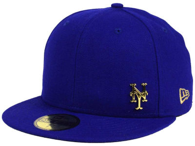 New York Mets New Era MLB Flawless OGold 59FIFTY Cap