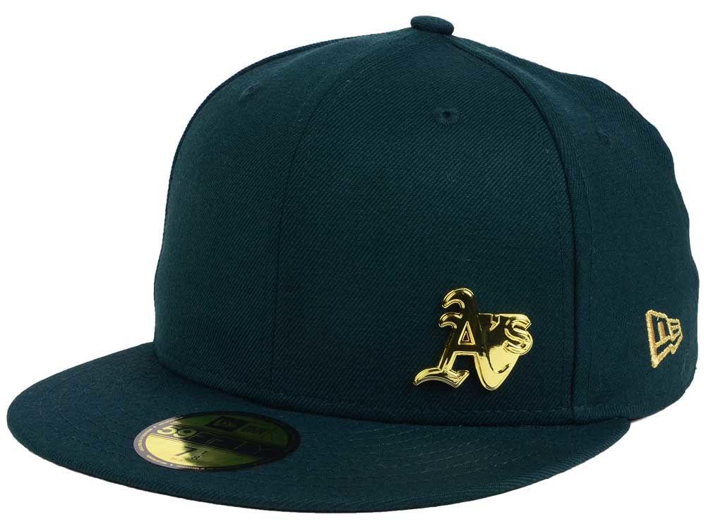best sneakers 69a20 9b8a4 Oakland Athletics New Era MLB Flawless OGold 59FIFTY Cap   lids.com