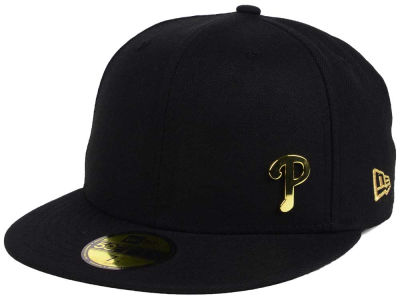 Philadelphia Phillies New Era MLB Flawless OGold 59FIFTY Cap