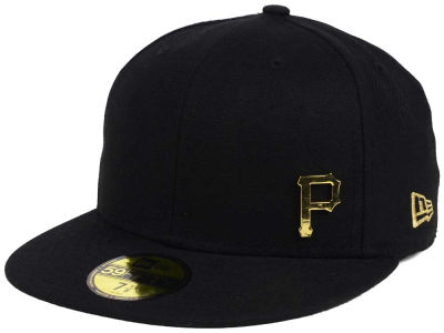 Pittsburgh Pirates New Era MLB Flawless OGold 59FIFTY Cap