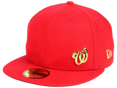 Washington Nationals New Era MLB Flawless OGold 59FIFTY Cap