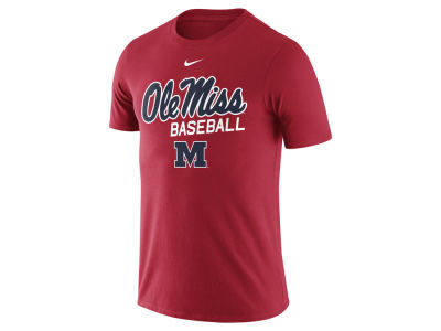 Ole Miss Rebels Nike NCAA Men's Baseball Cotton Script Logo T-Shirt