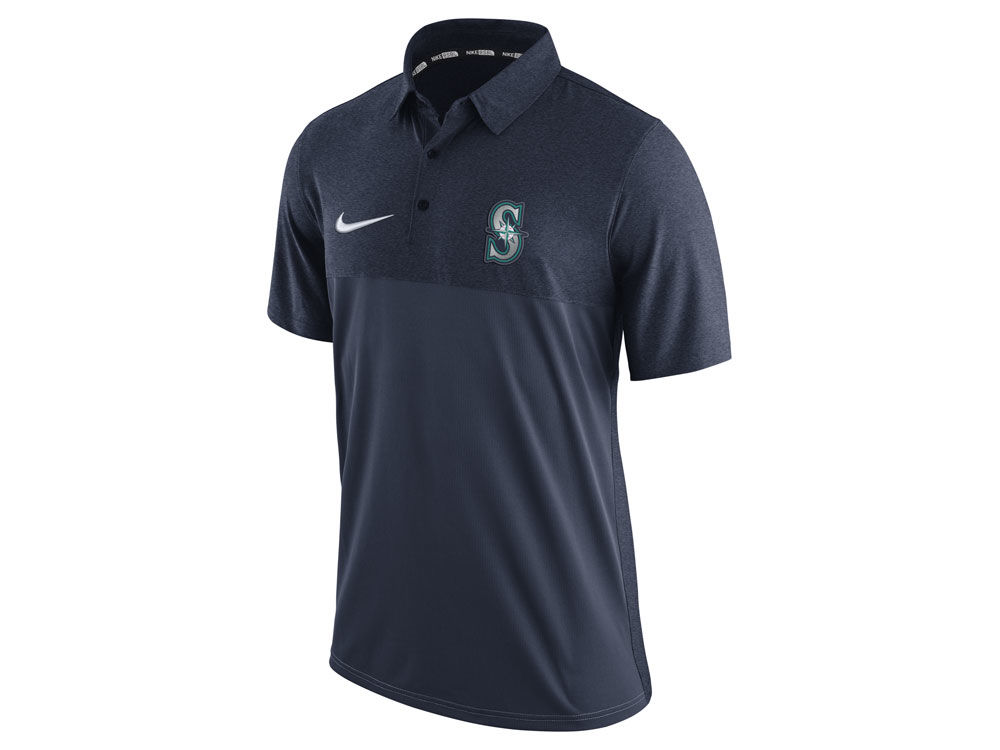 Seattle Mariners Nike MLB Men s AC Elite Polo 1.7  11fa5bdb6