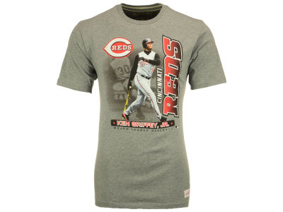 Cincinnati Reds Ken Griffey Jr. MLB Men's Hall of Fame Inductees T-Shirt