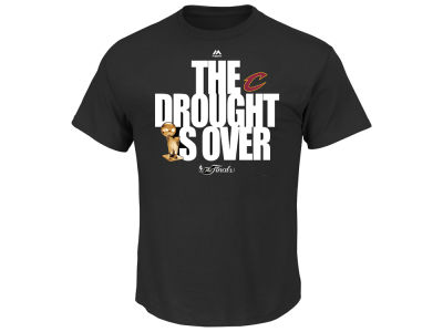 Cleveland Cavaliers Majestic NBA Men's Champ It's Over T-Shirt