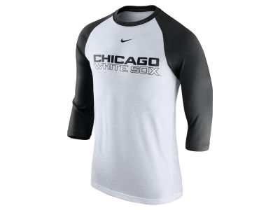 Chicago White Sox Nike MLB Men's Wordmark Raglan T-Shirt