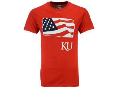 Kansas Jayhawks NCAA Men's Americana T-Shirt