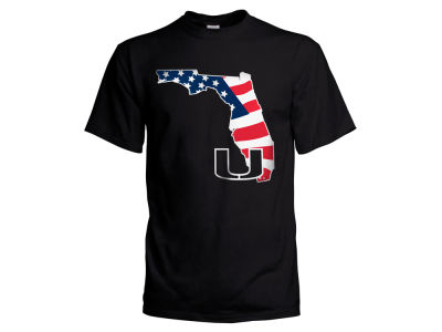 Miami Hurricanes NCAA Men's Americana T-Shirt