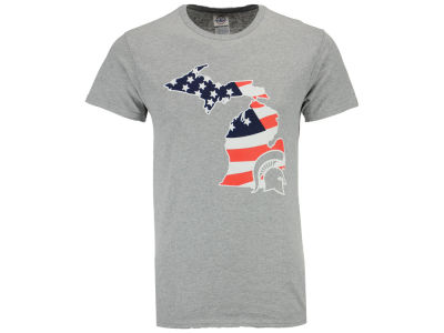 Michigan State Spartans NCAA Men's Americana T-Shirt
