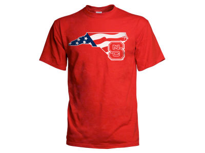 North Carolina State Wolfpack NCAA Men's Americana T-Shirt