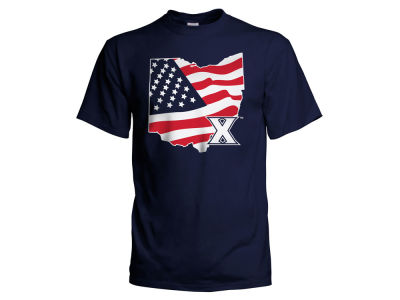 Xavier Musketeers NCAA Men's Americana T-Shirt