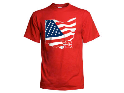 Dayton Flyers NCAA Men's Americana T-Shirt