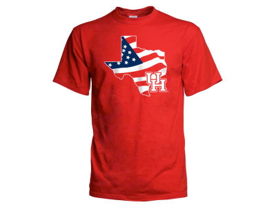 Houston Cougars NCAA Men's Americana T-Shirt